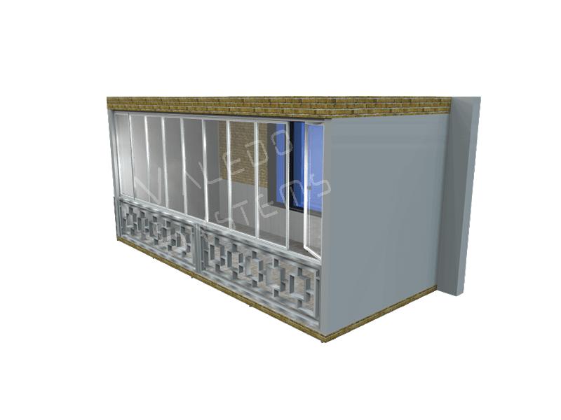 Valedo ICS 1 Laturi Balustrada Interioara